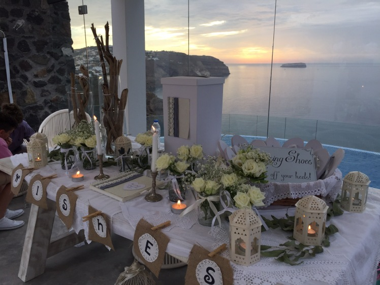 SANTORINI,WEDDING,FRIENDS,LOVE