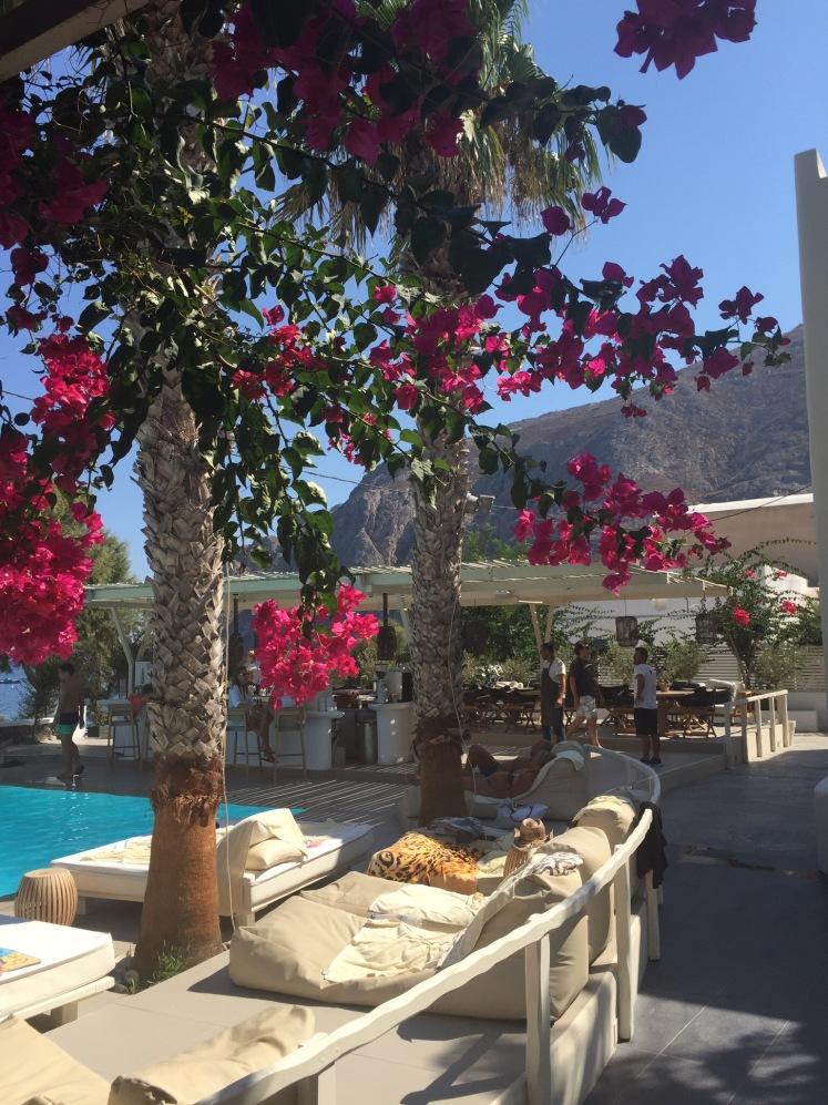 Oai, Santorini, Greece, kamari beach, summer, holiday