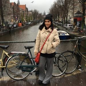 Tourist mode in Amsterdam