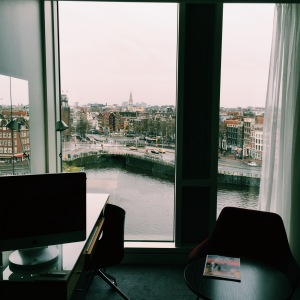 Amsterdam view, DoubleTree Hilton